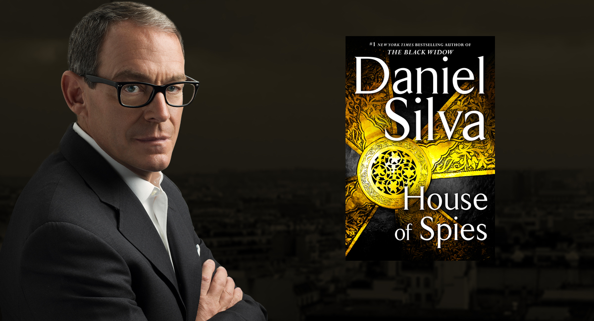 Image result for daniel silva house of spies